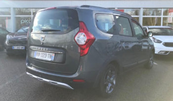 DACIA LODGY 1.54 DCI 110CH 7 PLACES plein